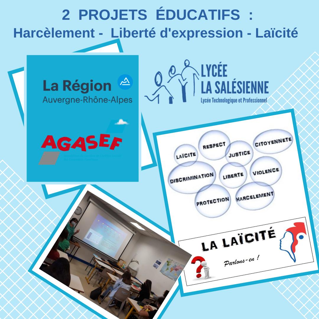 2 projets educatifs