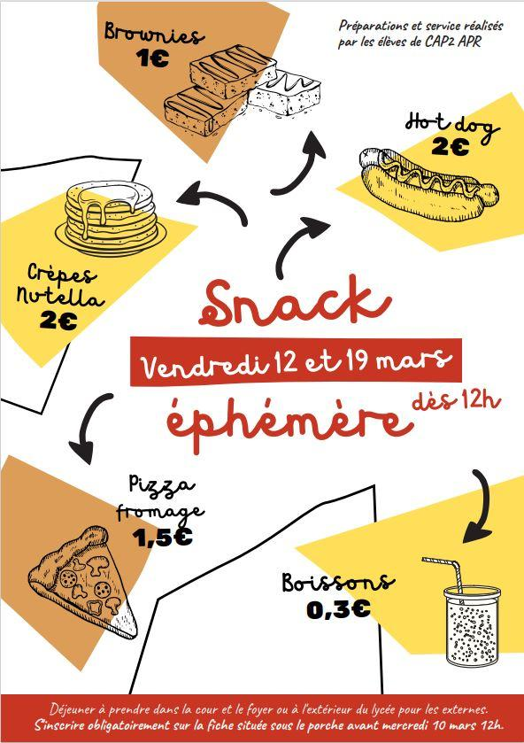 Snack ephemere 002
