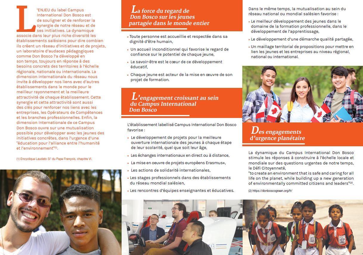 Tract (2) Don Bosco camus la Salésienne st Etienne